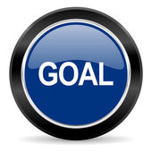 Goal icon — Stock Photo