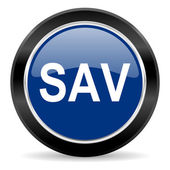 Sav icon — Stock Photo