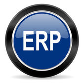 Erp icon — Stock Photo