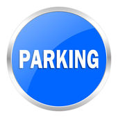 Parking icon — Stock Photo