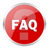 Faq-symbol — Stockfoto