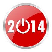 2014 年までのアイコン — ストック写真