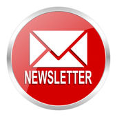 Newsletter icon — Foto de Stock