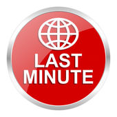 Last minute icon — Foto de Stock