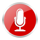 Microphone icon — Stock Photo