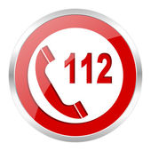 Emergency call icon — Foto de Stock