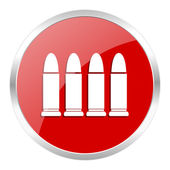 Ammunition icon — Stockfoto