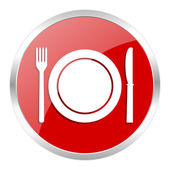Restaurant icon — Stockfoto