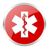 Emergency icon — Foto de Stock