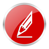 Bleistift-symbol — Stockfoto