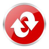 Rotation icon — Stock Photo