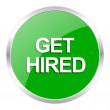 Get hired icon — Stock Photo #44779233