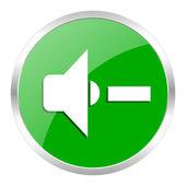 Speaker volume icon — Stock Photo