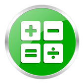 Calculator icon — Stockfoto