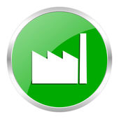 Factory icon — Foto de Stock