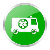 Ambulance icon — Foto de Stock