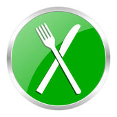 Restaurant icon — Foto de Stock