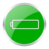 Battery icon — Foto de Stock