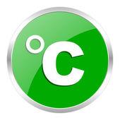 Celsius icon — Stock Photo