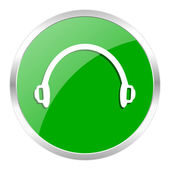 Headphones icon — Stockfoto