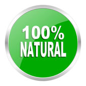 Natural icon — Foto de Stock