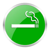 Cigarette icon — Stockfoto