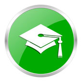 Education icon — Stock Photo