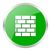 Firewall icon — Foto de Stock
