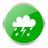 Storm icon — Stock Photo