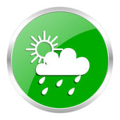 Rain icon — Stock Photo