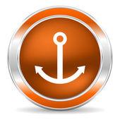 Anchor icon — Foto de Stock