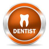 Icona di dentista — Foto Stock