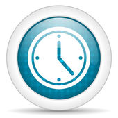 Time icon — Foto Stock