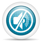 Mute icon — Stock Photo