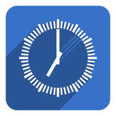 clock icon — Foto de Stock