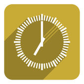 clock icon — Stock fotografie