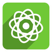 Atom icon — Stock Photo