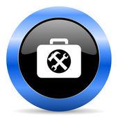 Ic ne de papier glac web toolkit de cercle bleu for Ico travailleur com ikea