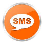 Ikona Sms orange — Zdjęcie stockowe
