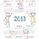 Calendar 2013 — Stock Vector #12459763