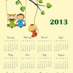Calendar 2013 — Stock Vector #12459773