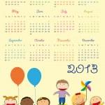 Calendar 2013 — Stock Vector #12459782