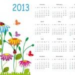 Calendar 2013 — Stock Vector #12459846
