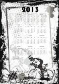 Kalender 2013 — Stockvektor