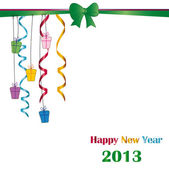 New Year 2013 — Stock Vector