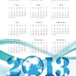 Calendar 2013 — Stock Vector #12477377