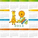 Calendar 2013 — Stock Vector #12477528