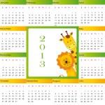 Calendar 2013 — Stock Vector #12477548