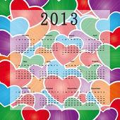 ημερολόγιο 2013 — Διανυσματικό Αρχείο