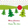 Christmas card — Stock Vector #13128161